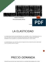 La Elasticidad e Inelasticidad