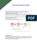 3 Trucos Matemáticos Que No Enseñan en El Colegio