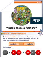 Boardworks What Are Chemical Reactions