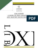 Film Studies Guide