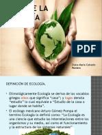 Bases de La Ecologia
