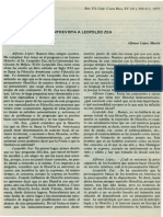Leopoldo Zea - Entrevista Por Alfonso López Martín
