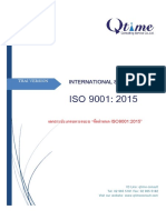 ISO 9001-Thai Version for Training1