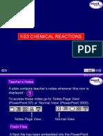 KS3 Chemical Reactions