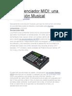 El Secuenciador MIDI