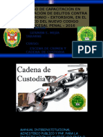 Cadena de Custodia 01