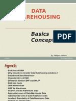 Data Warehouse-Basic Concepts
