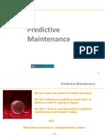Predictive Maintenance - Thinking Forward