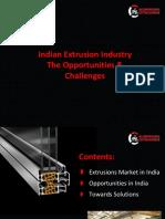 Al Extrusion Coatings in India
