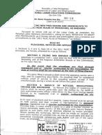 En Banc Resolution No. 05-14 Series of 2014