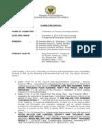 Committe Report 2 Nov16