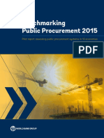 Benchmarking Public Procurement 2015