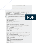 Iso 14001 Quality Manual