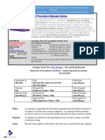 Bizmanualz CFO Policies and Procedures Series Sample