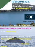 Biodiversité Malgache Un Levier de Développement Ou Un Trésor Tabou