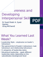 Chapter 1(2) -Self Awareness and Developing Interpersonal Skills.pptx