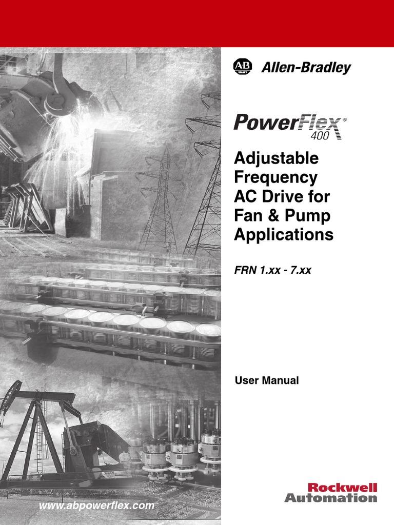 power flex 400 cable electrical wiring rh scribd com