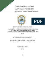 proyecto metodologia