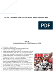 Music Magazine Task 1 General Questions about Music Magazines