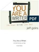 You Are a Writer - Screen