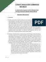 CERC Tarrif Guidelines for WtE