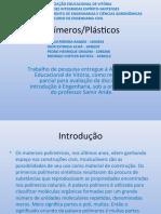 Apresentacao - Polímeros e Plásticos