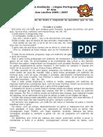 56251182-Ficha-de-Avaliacao-Texto-narrativo-fabula.doc