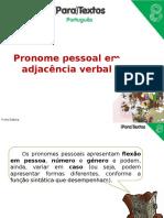Pronome Pessoal Em Adjacência Verbal (2)