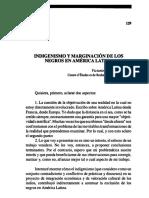 Indigenismo y marginación de los negros en América Latina.pdf