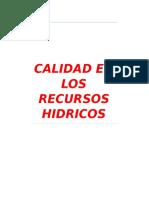 CALIDAD EN LOS RECURSOS HIDRICOS.docx
