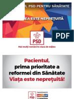 Programul PSD Pe Sanatate 04.11.2016