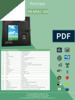 New PB ABAS 100 Brochure