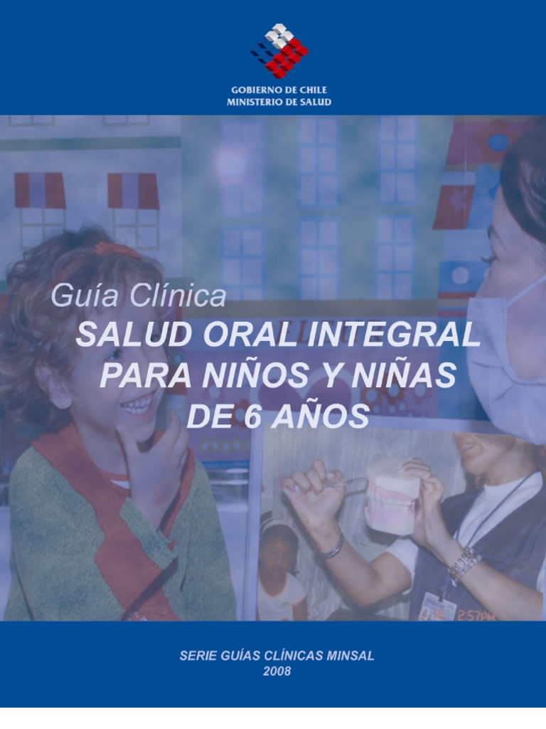 guia clinica salud oral niños 6 años