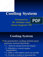 Cooling System PPT