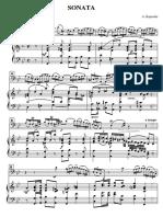 Kaporale sonata part Klavier