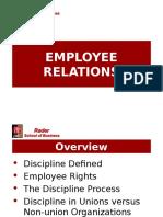 EmployeeRelations(Discipline&Grievance)