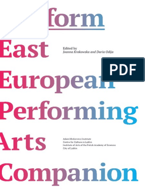Platform - East European Performing Arts Companion | Belarus