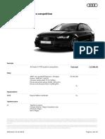 Oferta AUDI Audi A6 Avant 31 Octombrie 2016