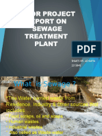 PPT of sewage treatment by SHAKTIRAJ