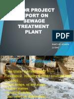 PPT of sewage treatment by SHAKTIRAJ