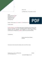 Carta Archivo