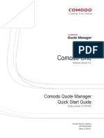Free Quote Manager – Comodo Quote Manager User Guide