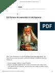 113 Formas de Aumentar Tu Inteligencia - Acertijos y Mas Cosas