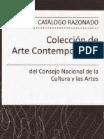 (2008) Catalogo Razonado Coleccion Arte Contemporaneo CNCA