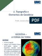 Topografi Geodesia
