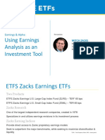 Mitch Zacks - Earnings and Alpha Using Earnings Analysis as an Investment Tool
