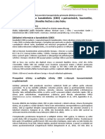 EIHA pozičný dokument CBD