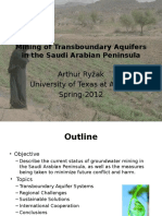 Transboundary Aquifer 2012