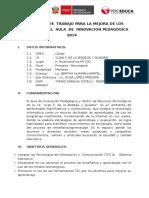 Plan Anual de Trabajo Para La Mejora de Los Aprendizajes Daip Ie Juan f (1). de La Bodega y Quadra
