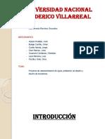 PROYECTO CHANCAY, DISEÑO POBLACIONAL Y CAUDAL